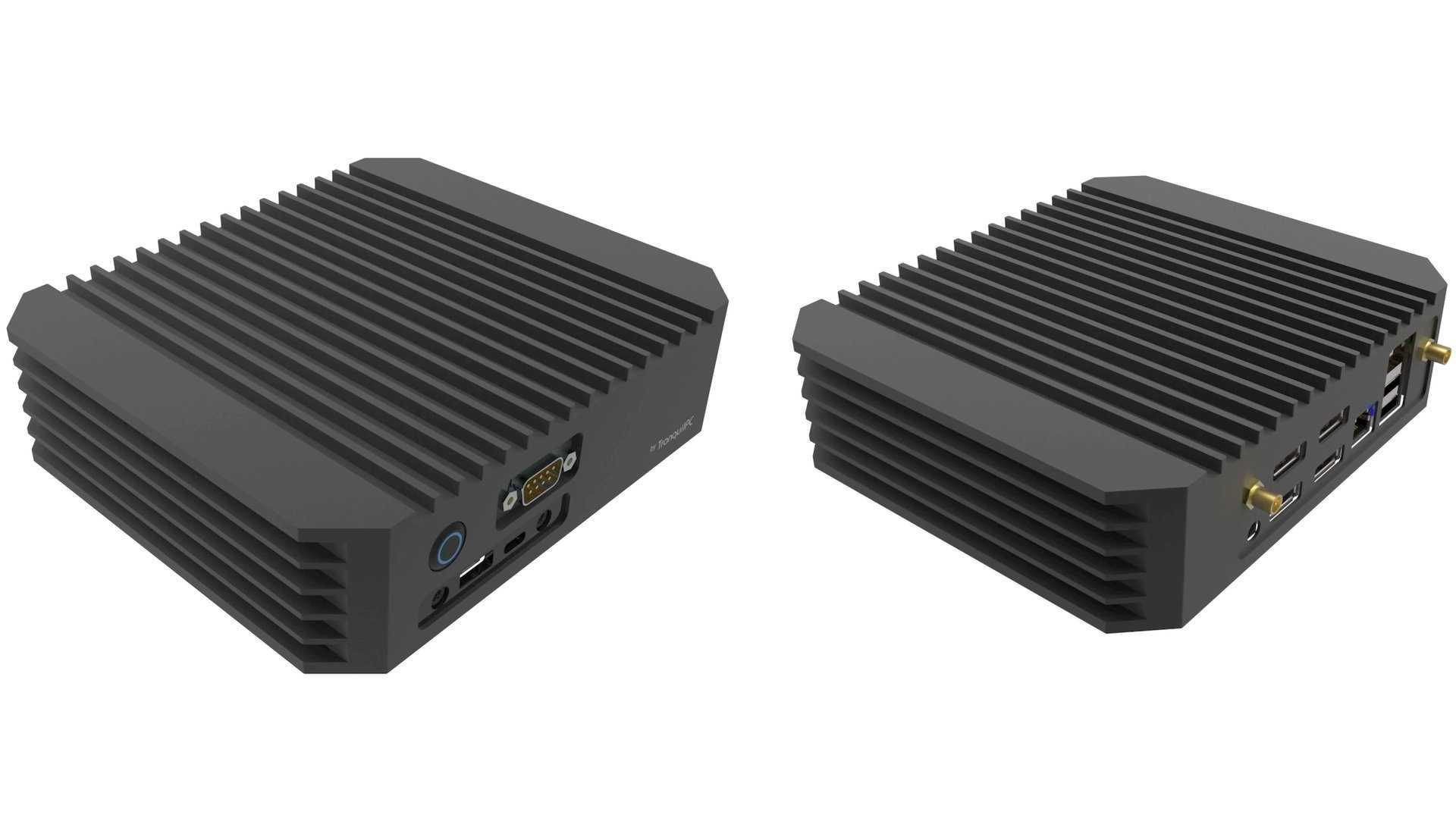 Tranquil PC Mini Multi Display PC mit AMD Ryzen Embedded V1000