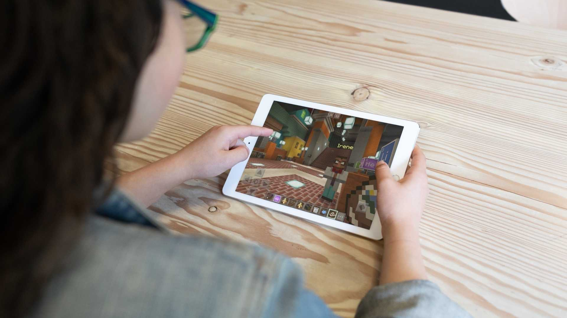 Minecraft Education Edition auf dem iPad