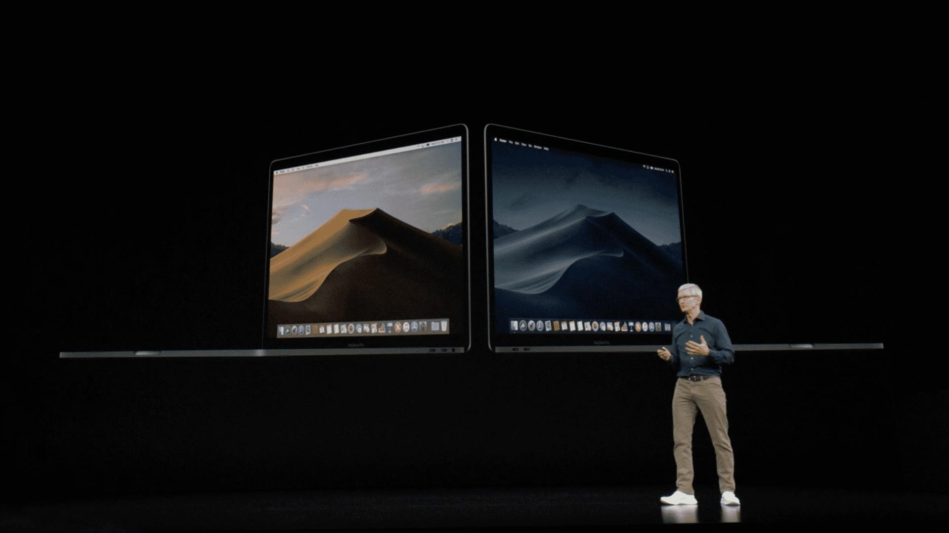 macOS 10.14 Mojave erscheint am 24.9.