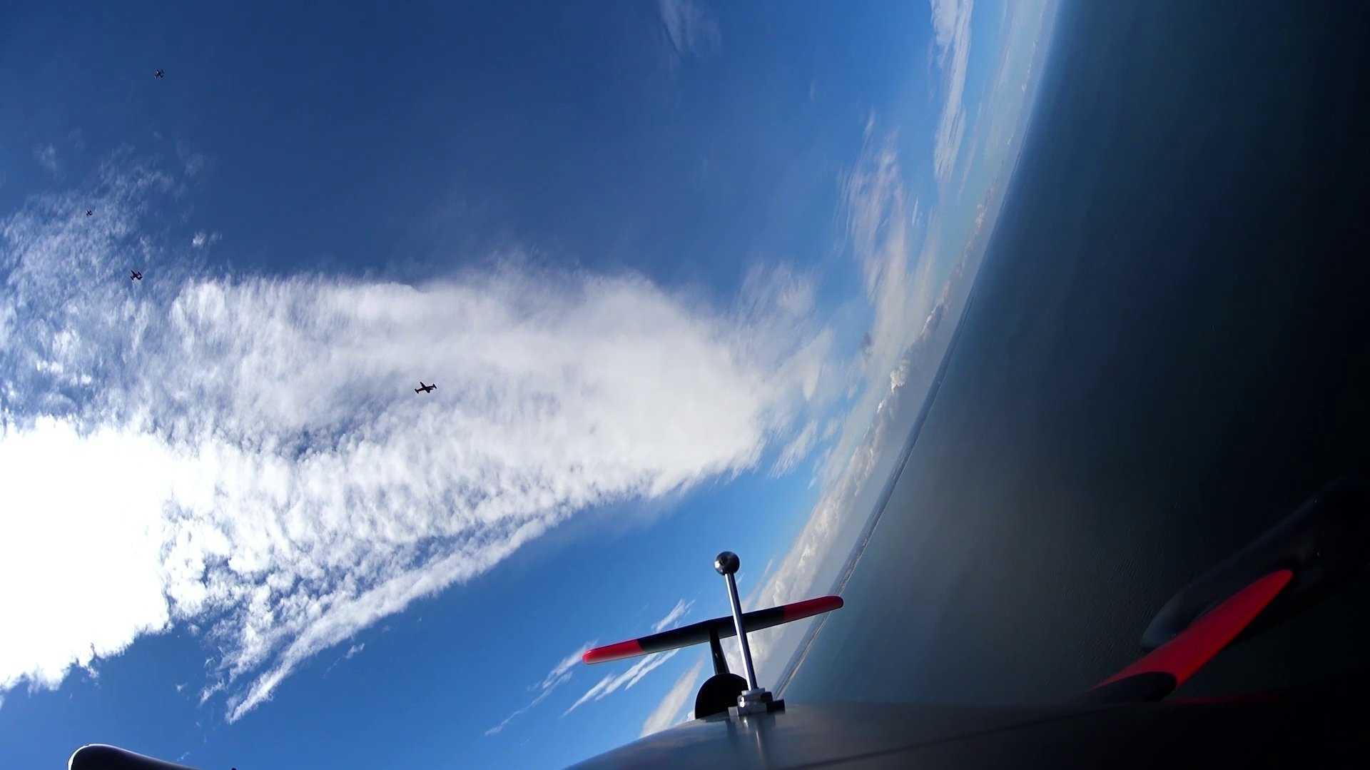 Luftkampftechnik: Airbus testet Drohnenschwarm über der Ostsee