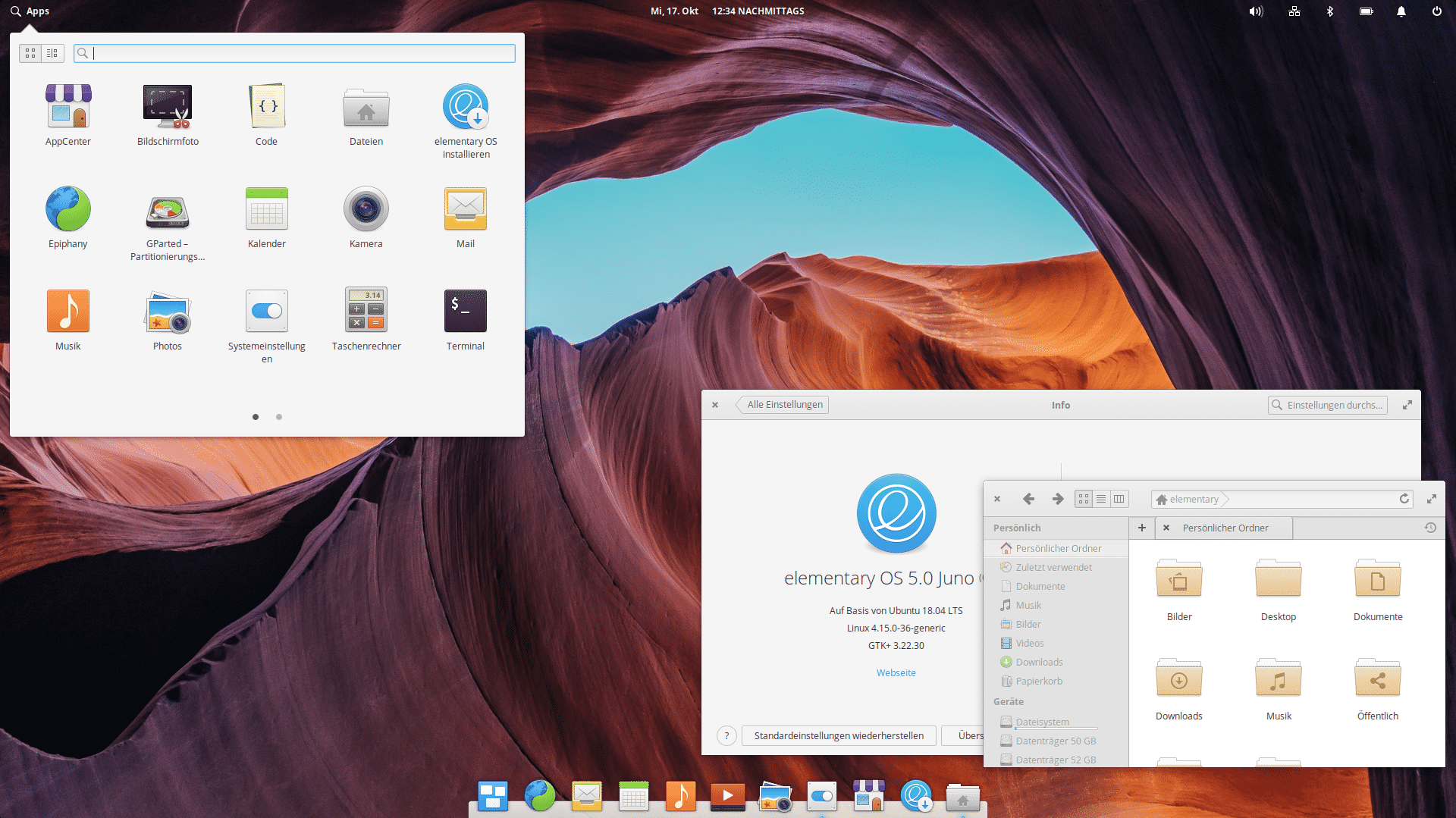 elementary OS 5.0 Juno