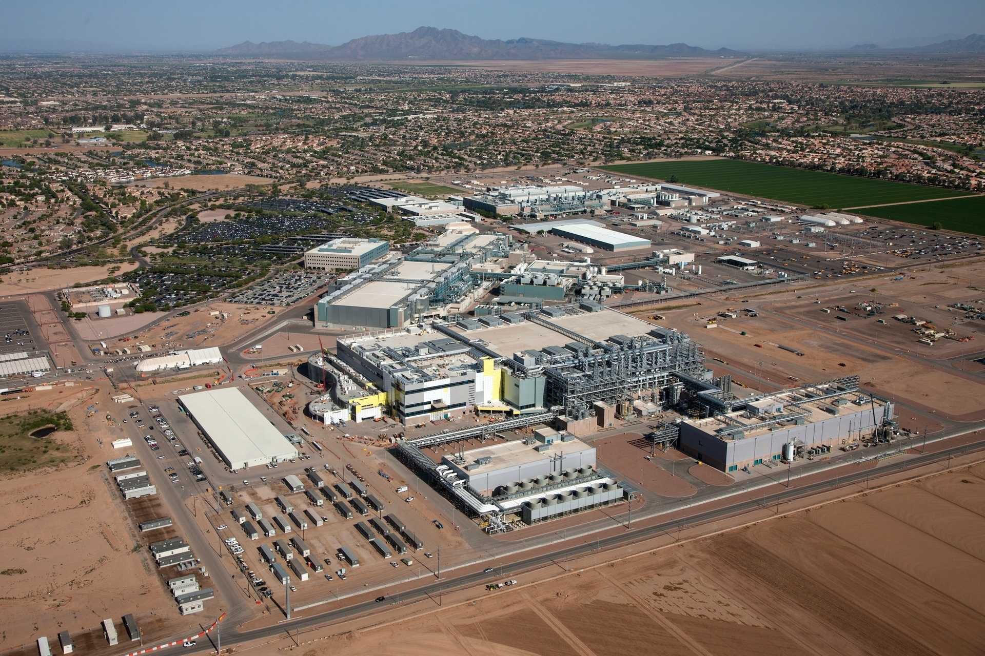 Intel-Fab 42 in Chandler, Arizona