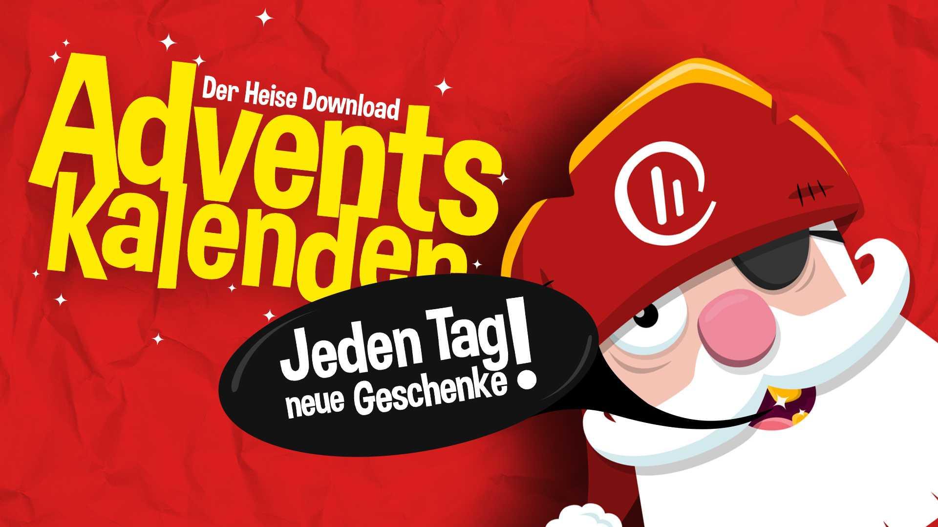 24 Geschenke im Adventskalender von heise Download