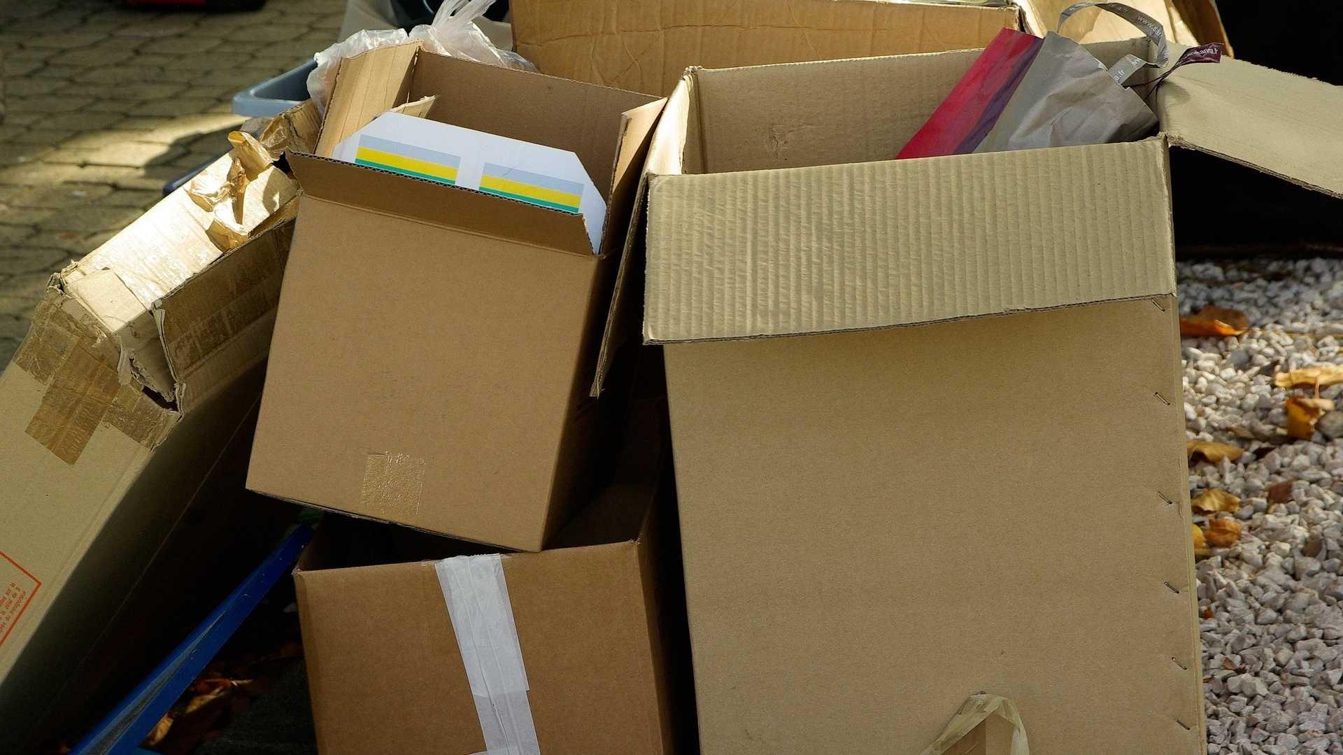 Mehr Altpapier durch Online-Shopping: Volumenanteil durch Kartons steigt