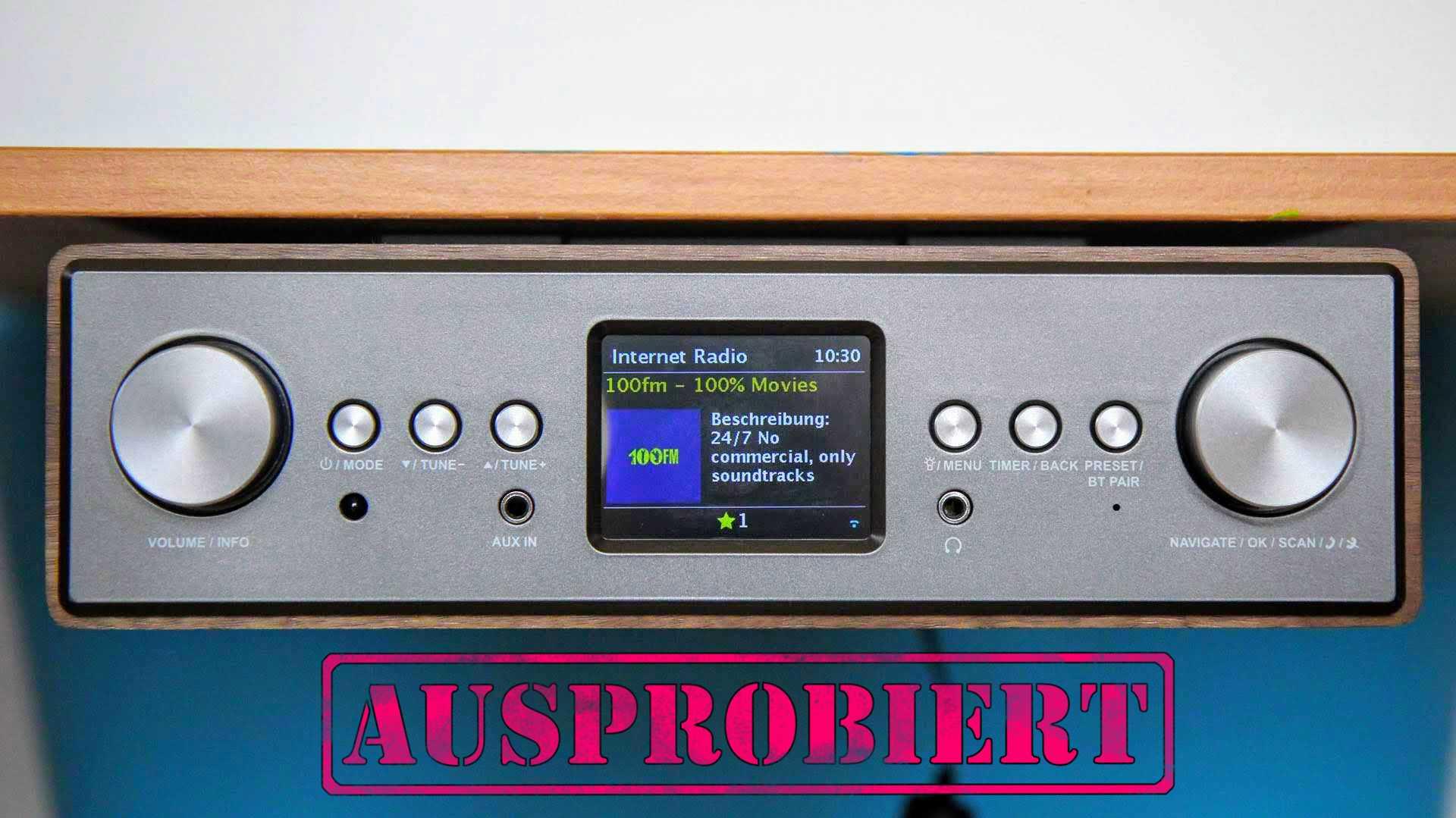 Test Auna Connect Soundchef: DAB+ und Spotify für 135 Euro