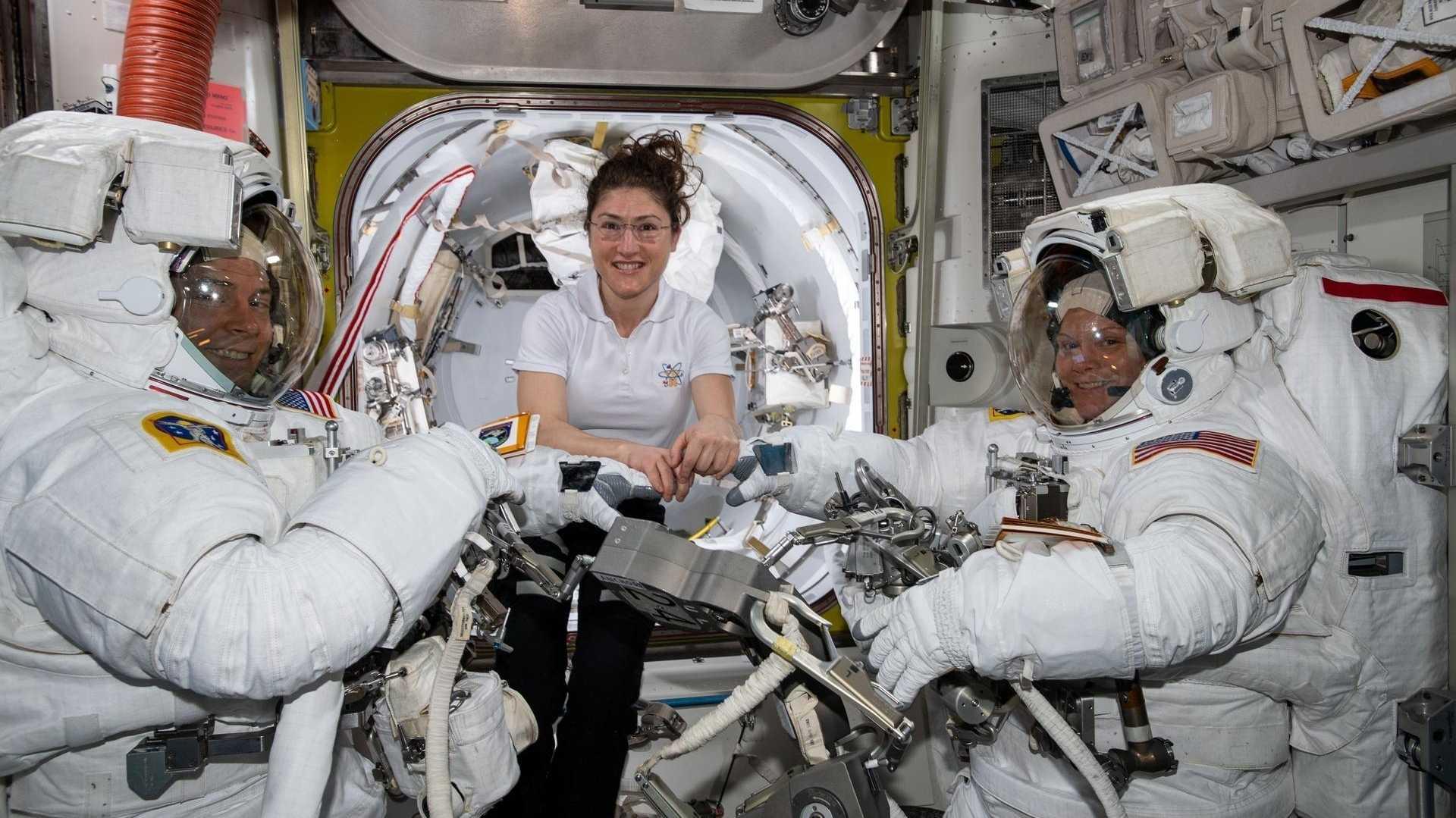 Raumanzug-Problem: Erster ISS-Außeneinsatz nur mit Frauen abgeblasen