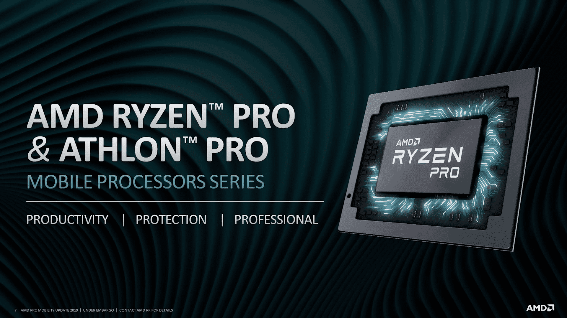 Ryzen Pro 3000 Mobil
