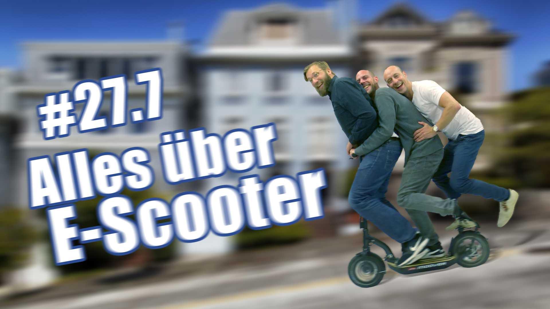 c't uplink 27.6: Praxistest: Wer braucht E-Scooter?