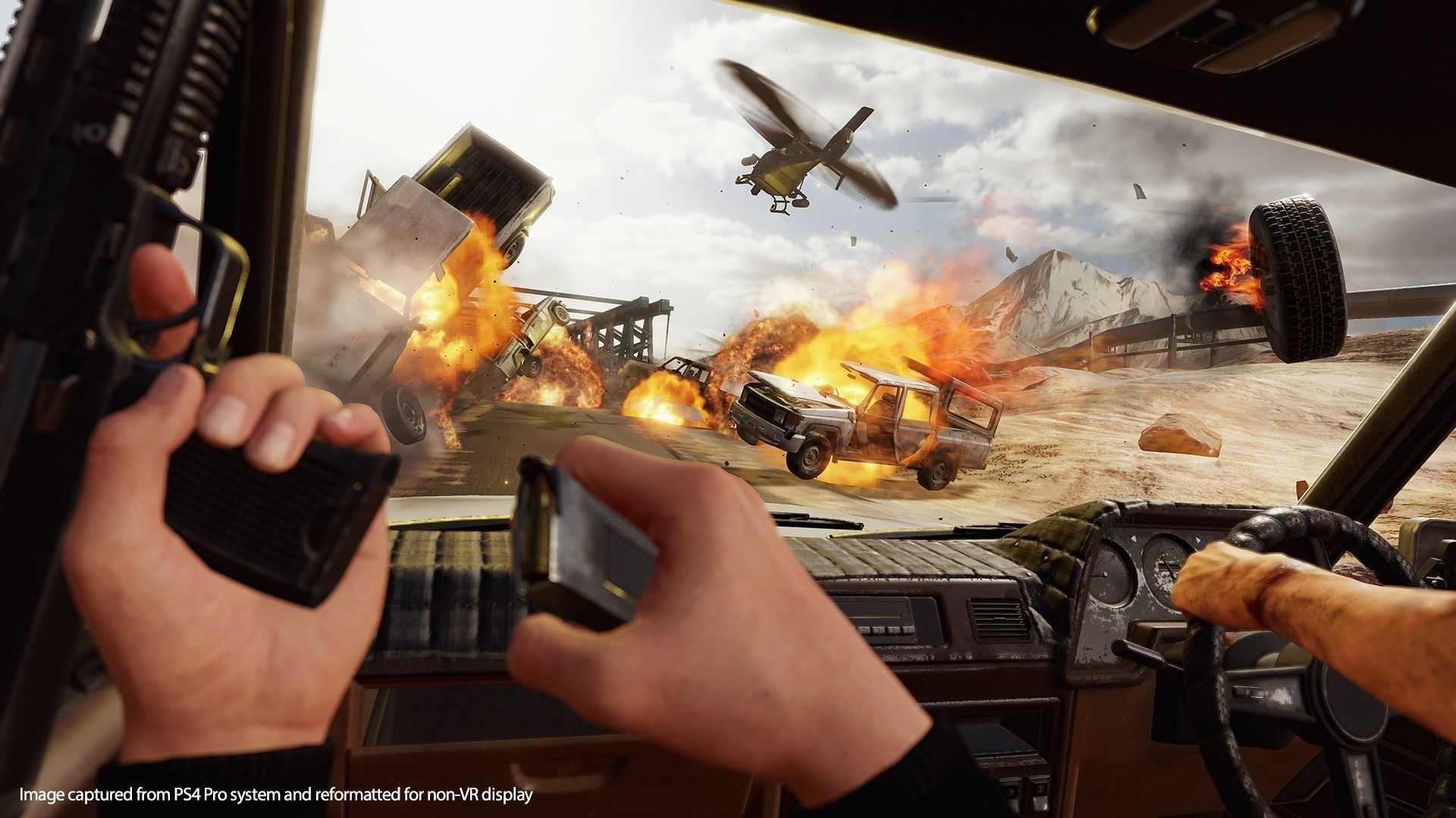 Blood & Truth im Test: Der Spion, der VR liebte