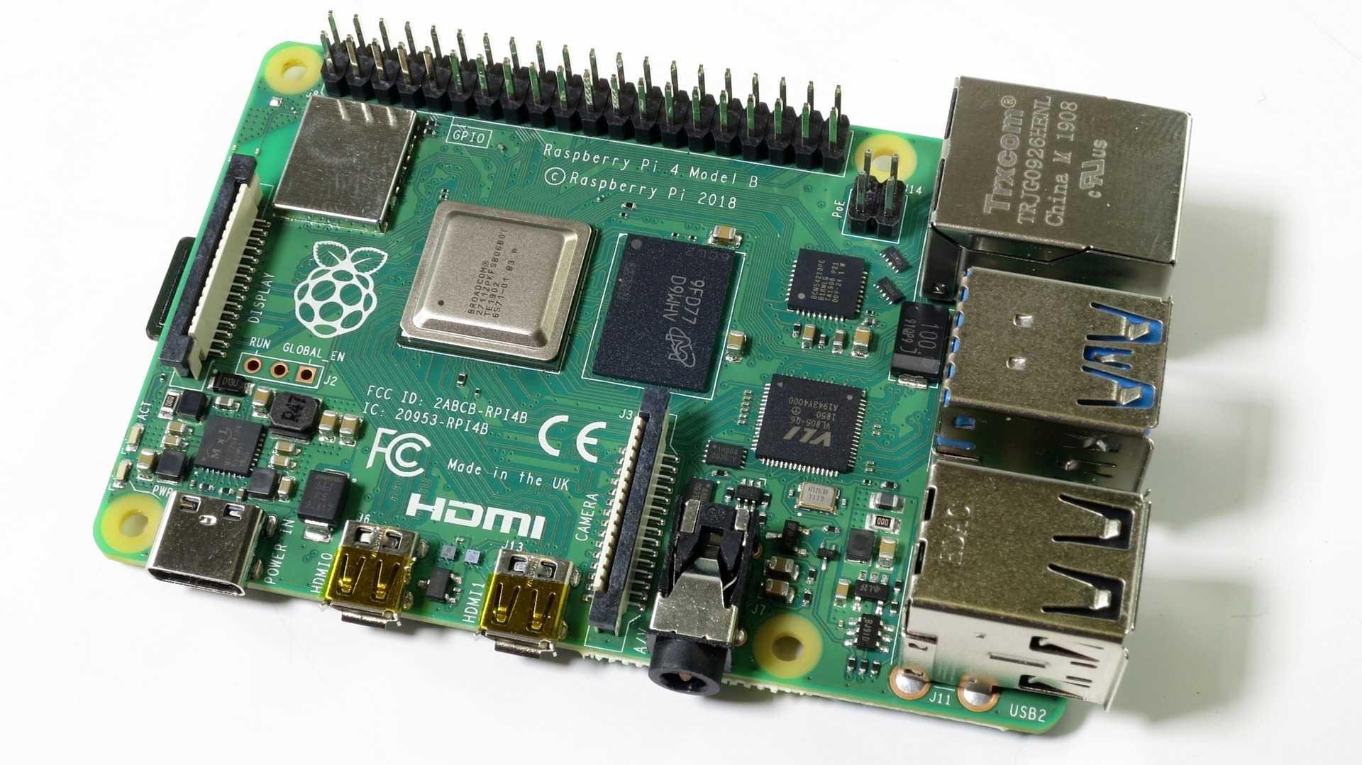 Raspberry Pi 4 Model B im c't-Labor