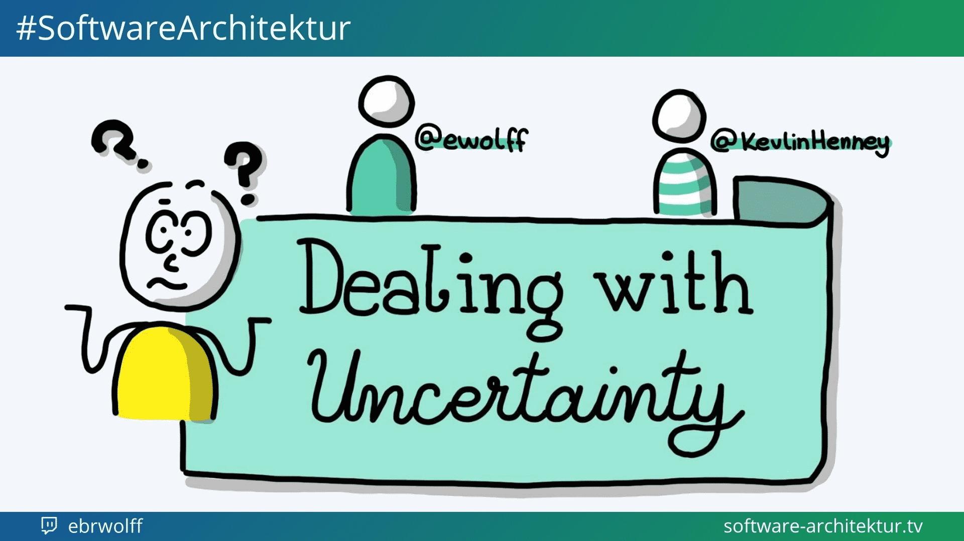 software-architektur.tv: Dealing with Uncertainty