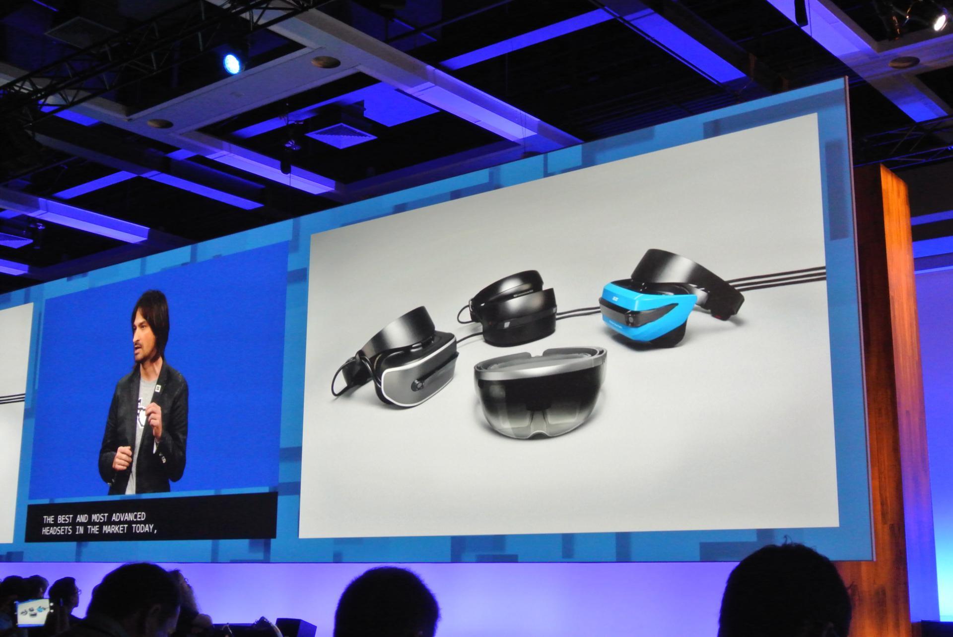 Microsoft fasst verschiedene MR- und VR-Brillen unter der HoloLens Plattform zusammen.
