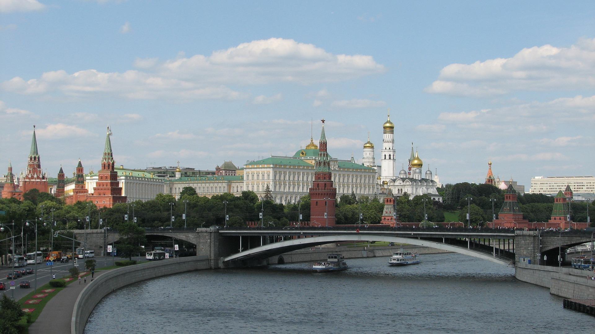 Der Kreml in Moskau