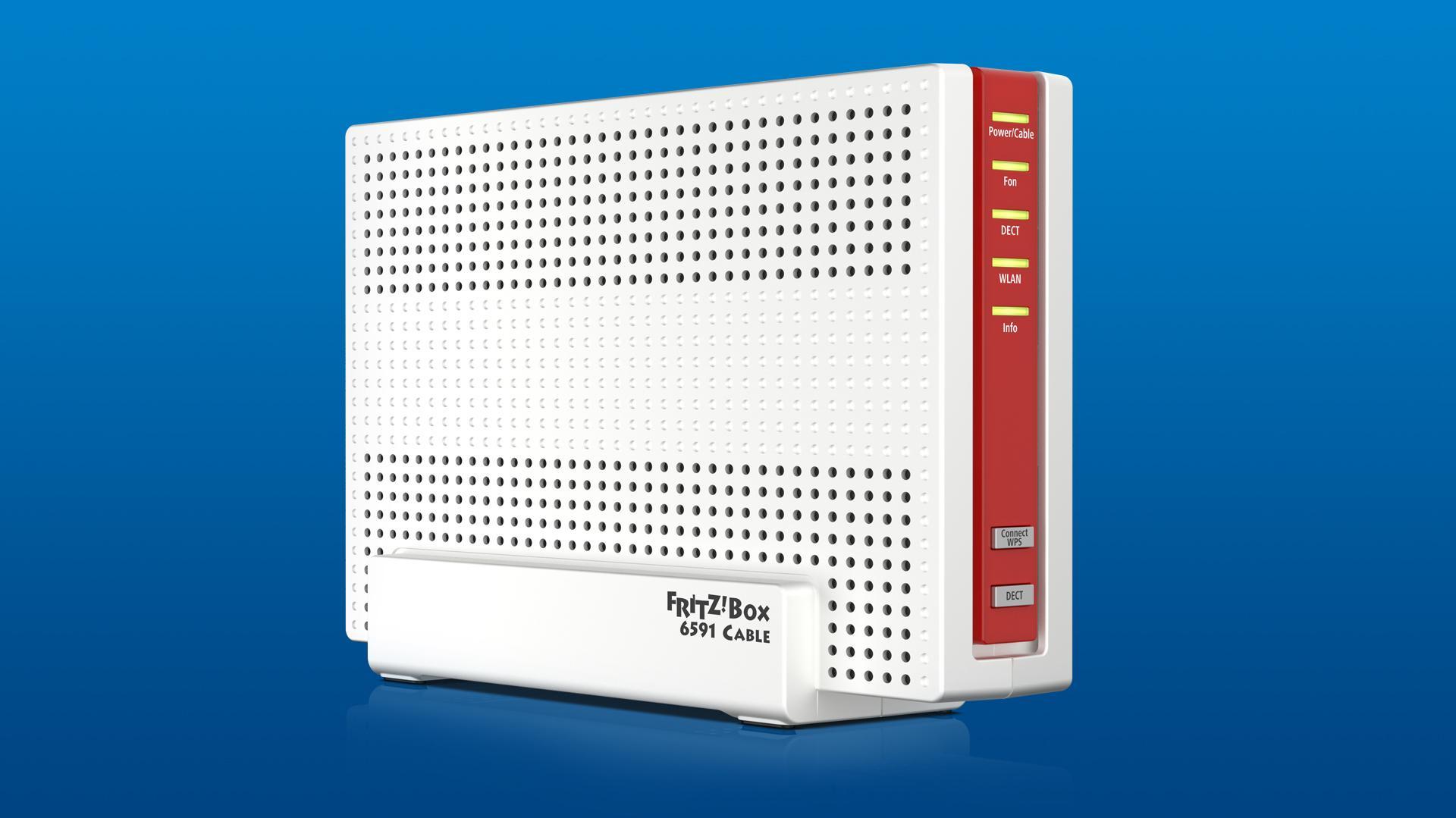Gigabit Internet Fritzbox 20 für schnelle Kabelanschlüsse ...