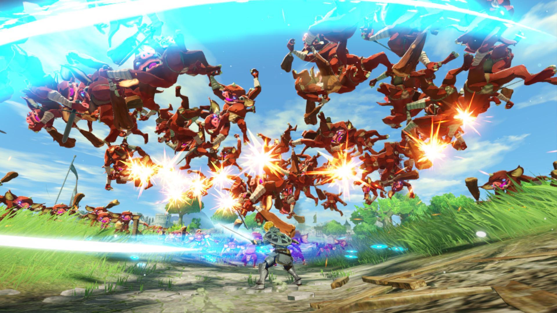 Hyrule Warriors Age Of Calamity Zelda Prequel Zu Breath Of Wild Kommt Heise Online