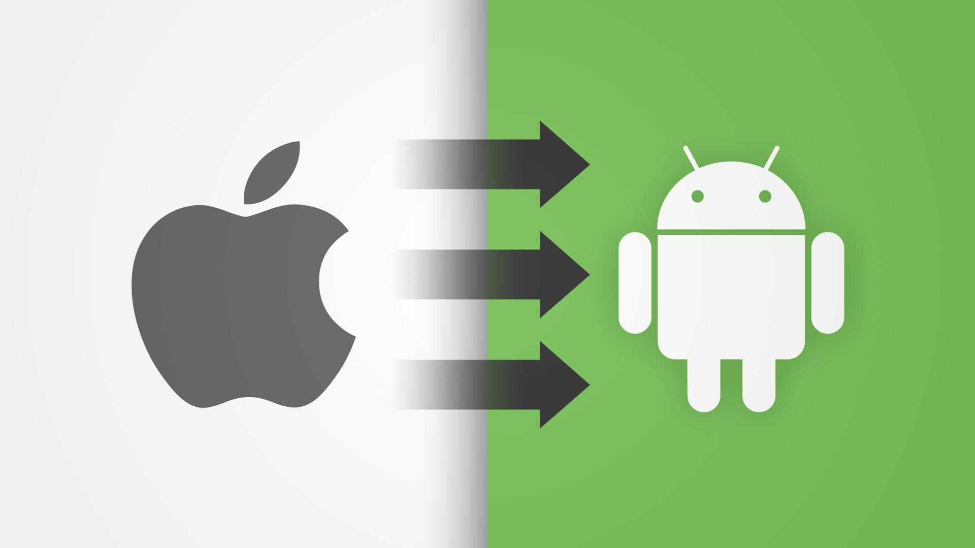 Vom iPhone zu Android: So gelingt der Smartphone-Wechsel