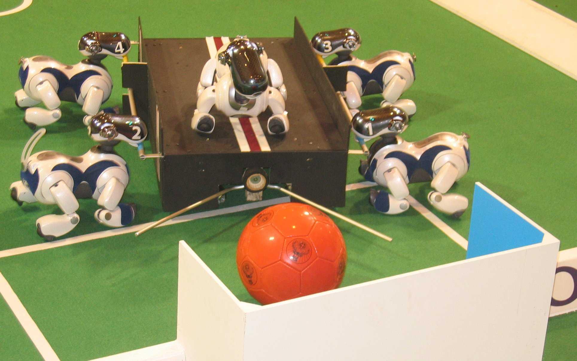 Technical Challenge der Aibo League