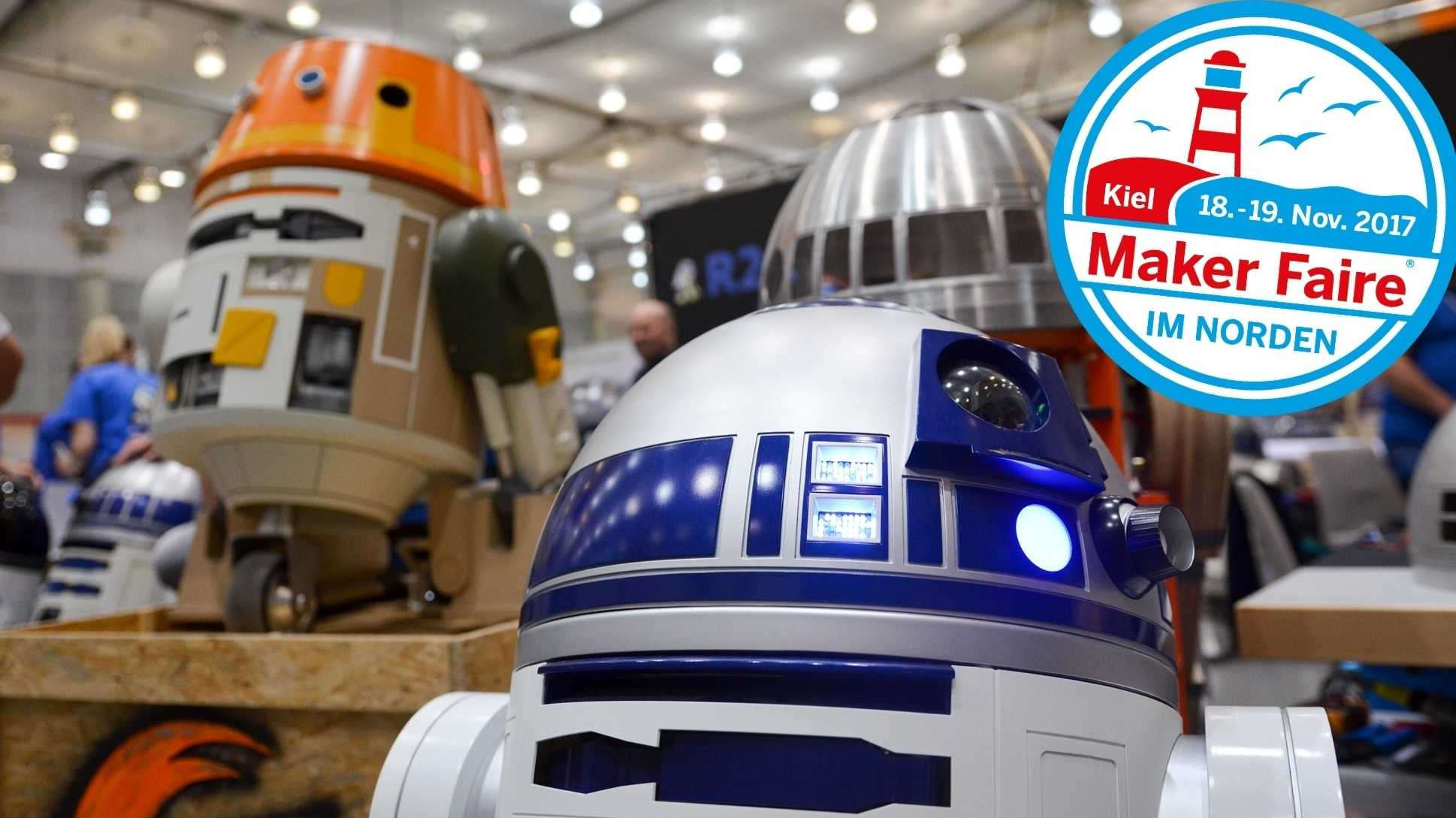 Droiden aus Star Wars vom R2-Builders Club