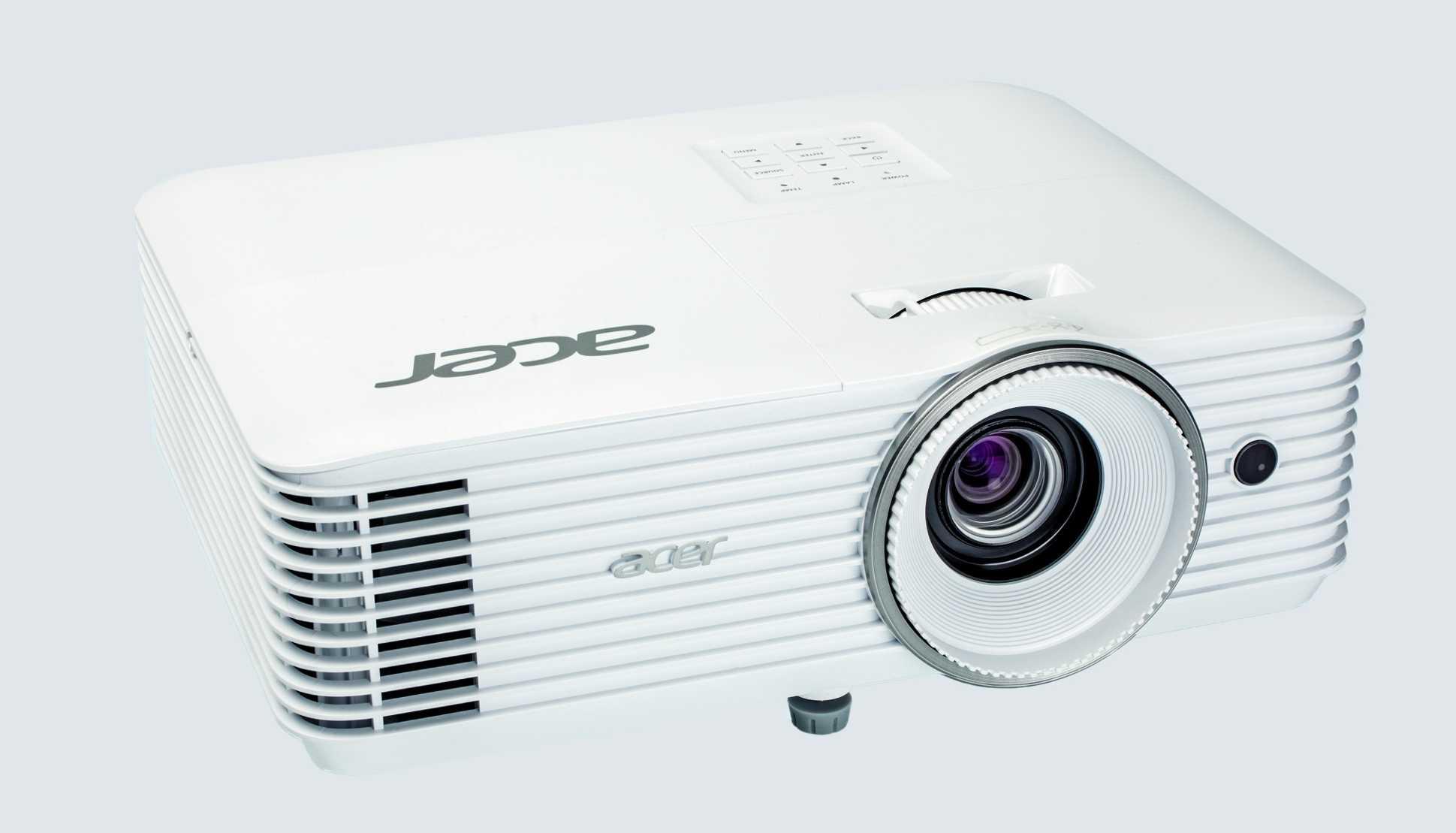 Acers lichtstarker FUll-HD-Beamer H6521BD lässt sich dank ordentlicher Farben und gutem Schwarzwert nach der WM auch im Heimkino nutzen.
