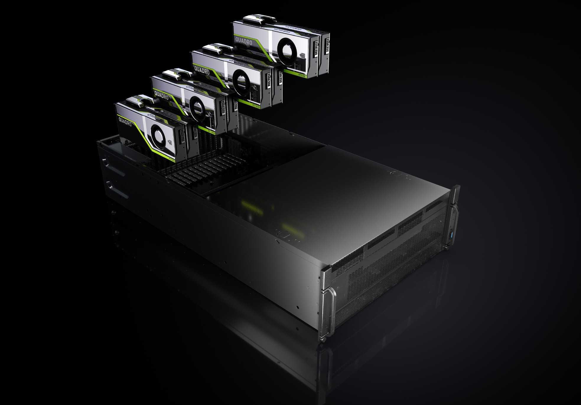 RTX-Server sollen auch Game-Streaming beflügeln