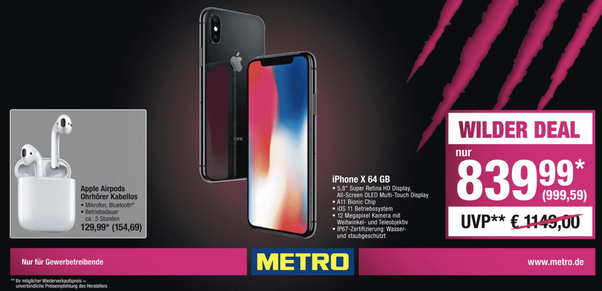 Metro iPhone X