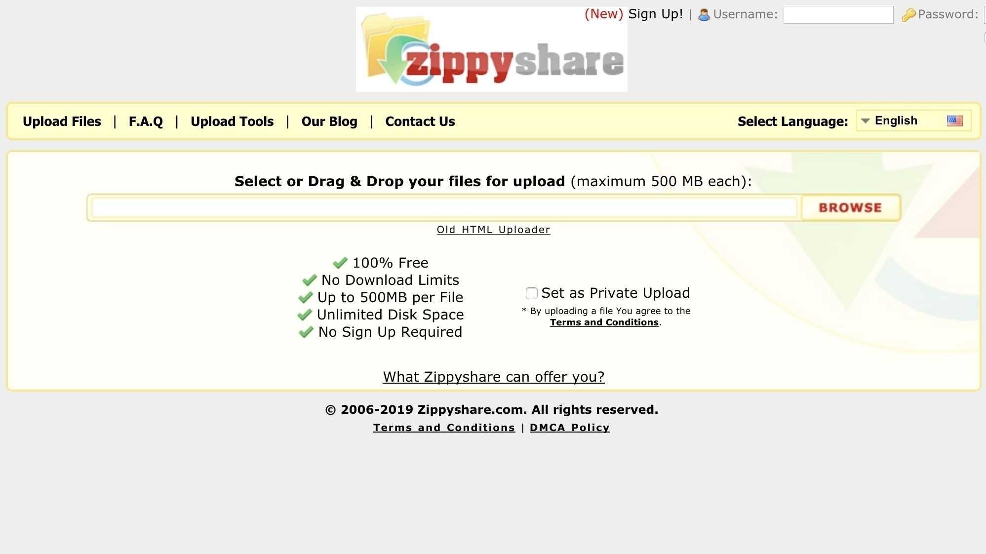 Filehoster Zippyshare sperrt Nutzer in Deutschland aus | heise online