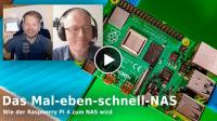 nachgehakt: Raspberry Pi 4 als NAS-Basis
