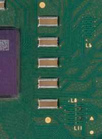 L6-, L8- und L11-Brücken eines echten Sempron 2400+