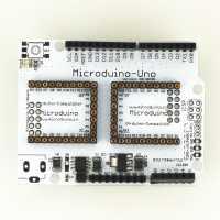 Mit dem Uno-Shield lassen sich alte Arduino-Projekte weiterbetreiben.