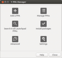 Oberfläche des Y PPA Managers