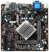 Mini-ITX-Mainboard MSI J1800I mit Celeron J1800 (Bay Trail)