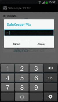 Die App greift auf die Passwörter zu; auf dem Smartphone werden sie aber nie gespeichert.