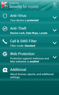 Kaspersky Security for Mobile gibts nun auch fürs WIndows Phone.