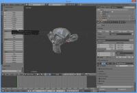 Die Werkzeugleiste auf der linken Seite des Blender-Fensters gruppiert Funktionen auf thematischen Tabs.