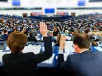 Abstimmung im EU-Parlament.