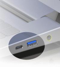 Die Typ-C-Verbinder werden deutlich kleiner als bisherige USB-Typ-A-Buchsen sein.