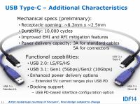 An beiden Enden eine Typ-C-Kabels sitzt derselbe orientierungsunabhängige Stecker.