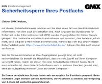 """Datenklau"": GMX und Web.de sperren betroffene Mailkonten"