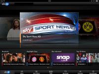 Sky Go ist im Web, auf dem iPad, iPhone, iPod touch und der Xbox 360 nutzbar.
