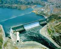 Talsperre in den USA: So groß wird Apples hauseigenes Wasserkraftwerk natürlich nicht.