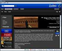 Zudeo.com Beta powered by Azureus 3.0