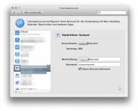 Künftig nur noch in neueren OS-X-Versionen möglich: iChat-AIM-Anmeldung mit einer me.com- oder mac.com-Adresse