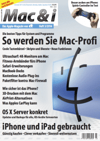 Mac & i Heft 3/2014: Titelbild