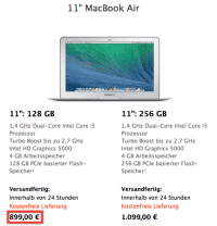 Screenshot Apple Online Store