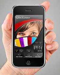 Der Farbscanner ColorVisor.