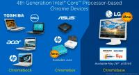 Mit dem Chromebase genannten Rechner kommt von LG ein erster All-in-One-PC mit Chrome OS auf den Markt.