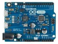 Bezüglich seiner Leistung ordnet sich der Arduino Zero seinem großen Bruder Arduino Due unter.