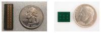 Antennen für das 60-GHz-WLAN sind auf die Übertragung von 5-mm-Wellen optimiert und als Arrays ausgelegt. In einem typischen Array haben die einzelnen Antennenelemente 2,5 mm Abstand.