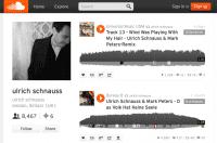 Screenshot Soundcloud