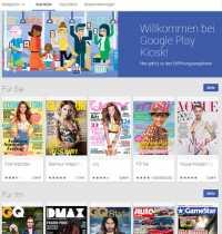 Der Online-Zeitungskiosk von Google